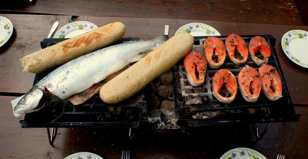 fisk bord grill